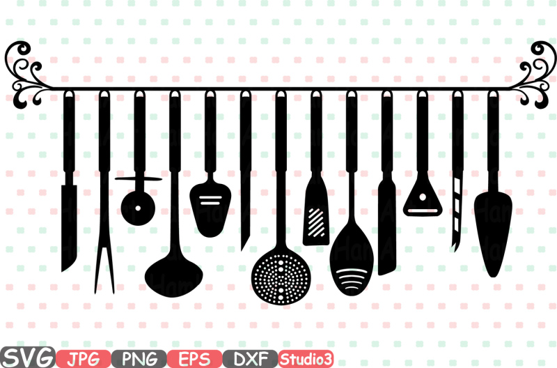 split-kitchen-svg-silhouette-cutting-files-cricut-studio3-cameo-clipart-kitchen-utensils-cooking-food-stickers-clipart-tools-clip-art-572s