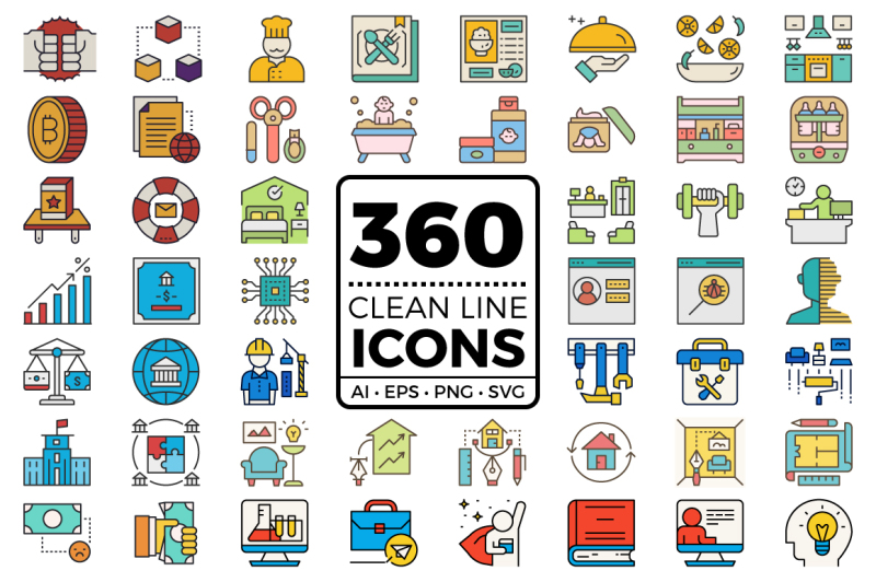 clean-line-icons