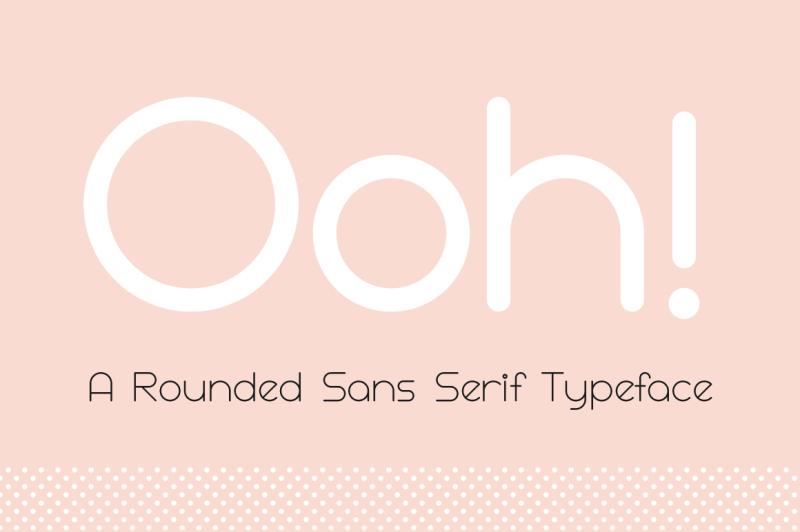 ooh-rounded-sans-serif-typeface