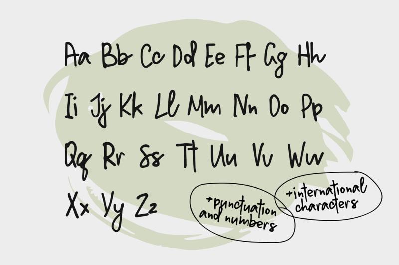 million-notes-handwritten-script