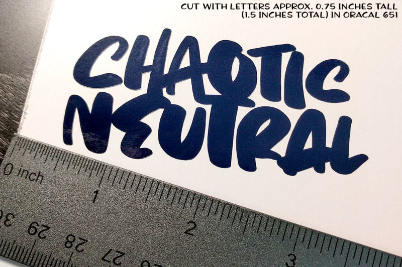 chaotic-neutral-a-rough-and-ready-font