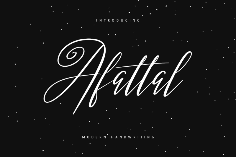 afattal-typeface