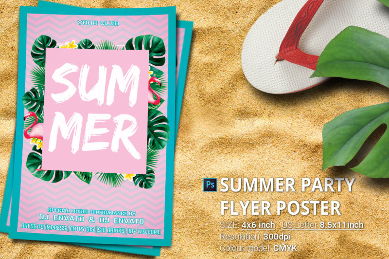 summer-party-flyer-poster