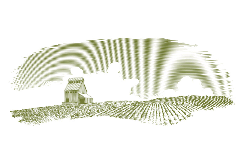 woodcut-grain-elevator-scene