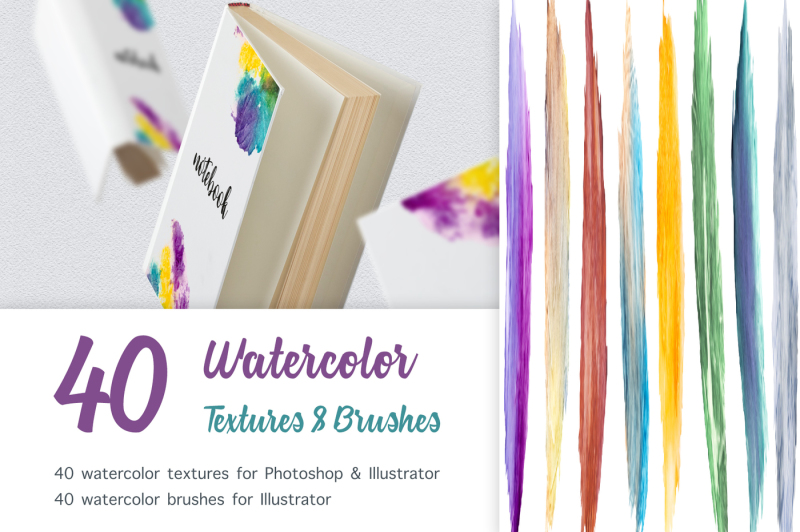 watercolor-brush-and-texture-set