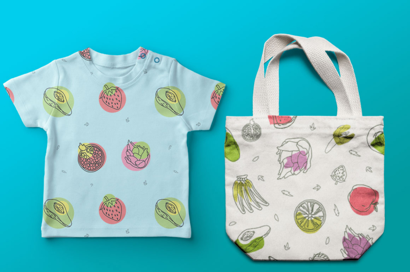 fruits-graphic-collection