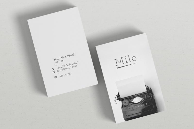milo-business-card-template