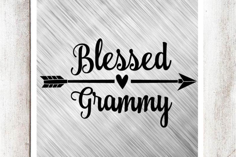 blessed-grammy-svg-dxf-eps-file