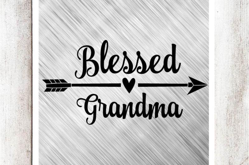 blessed-grandma-svg-dxf-eps-file