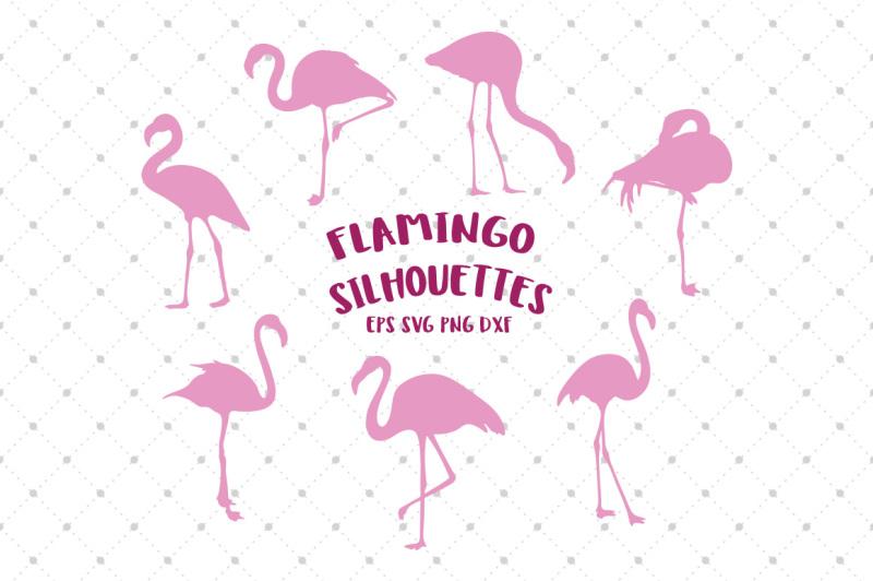 flamingo-silhouettes