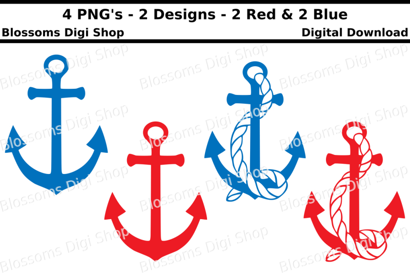 anchors-svg-dxf-eps-and-png-cut-files