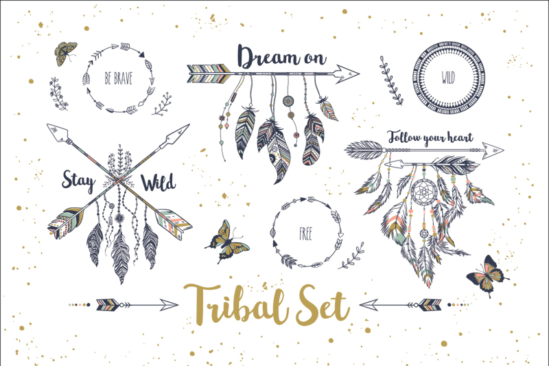 tribal-set