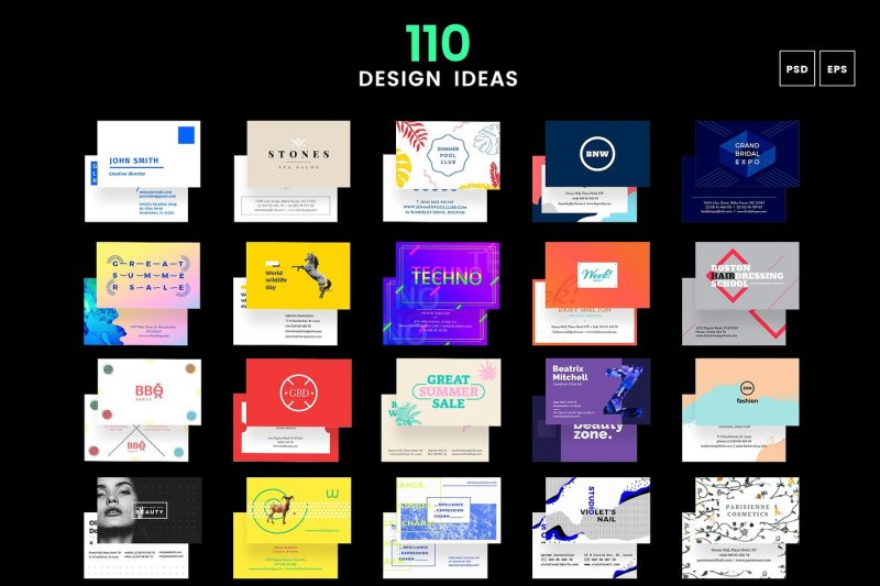 110-in-1-business-card-templates-bundle