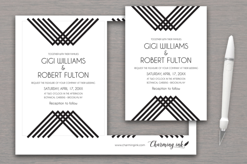 luxe-stripes-wedding-suite