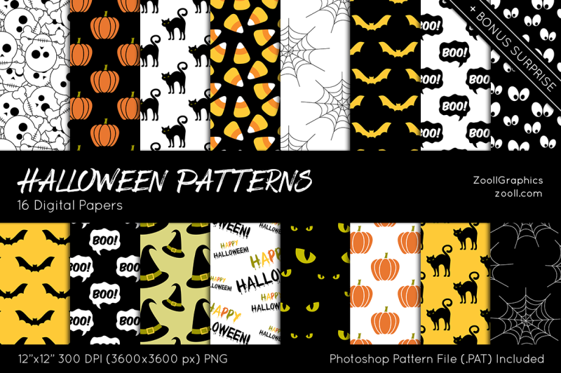 halloween-patterns-digital-papers