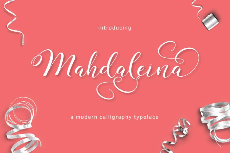 mahdaleina-typeface