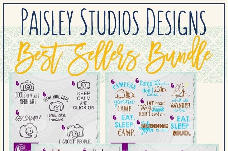 Paisley Studios Designs Best Sellers Bundle By Paisley Studios