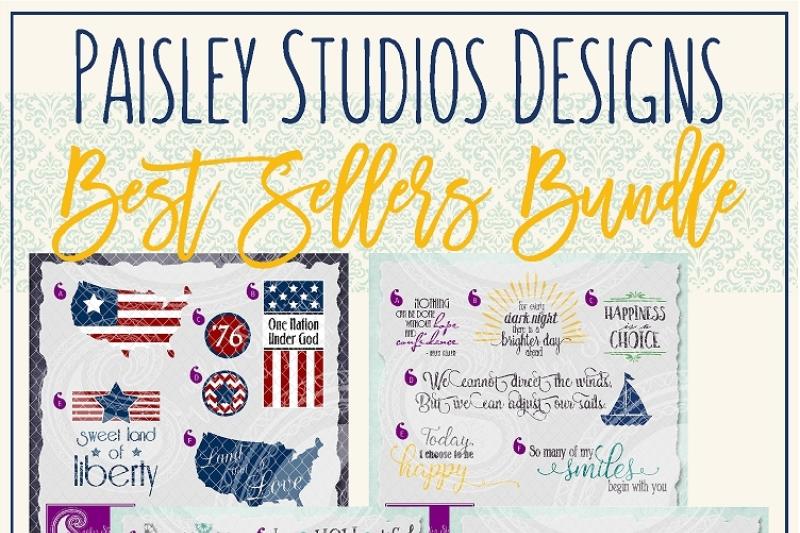 Paisley Studios Designs Best Sellers Bundle By Paisley Studios Designs Thehungryjpeg Com