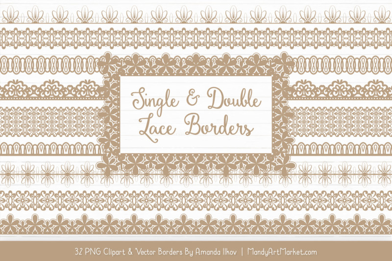 mixed-lace-clipart-borders-in-champagne
