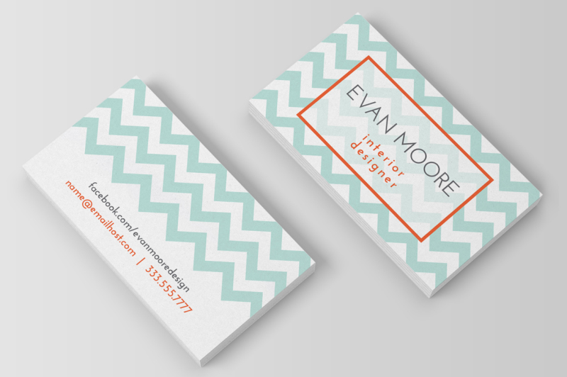 chevron-business-card