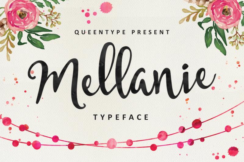 mellanie-typeface