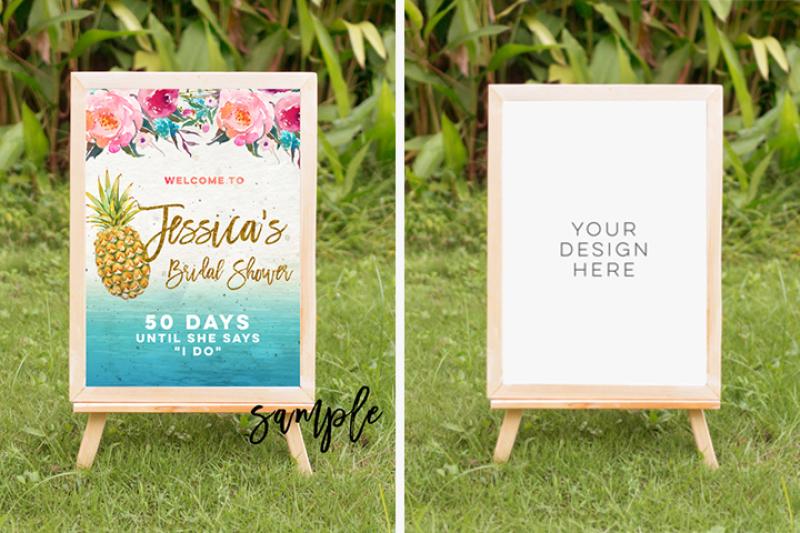 tropical-summer-mock-up-summer-mock-up-frame-summer-wedding-party-frame-digital-frame-sign-landscape-mock-up-vertical-mock-up-psd