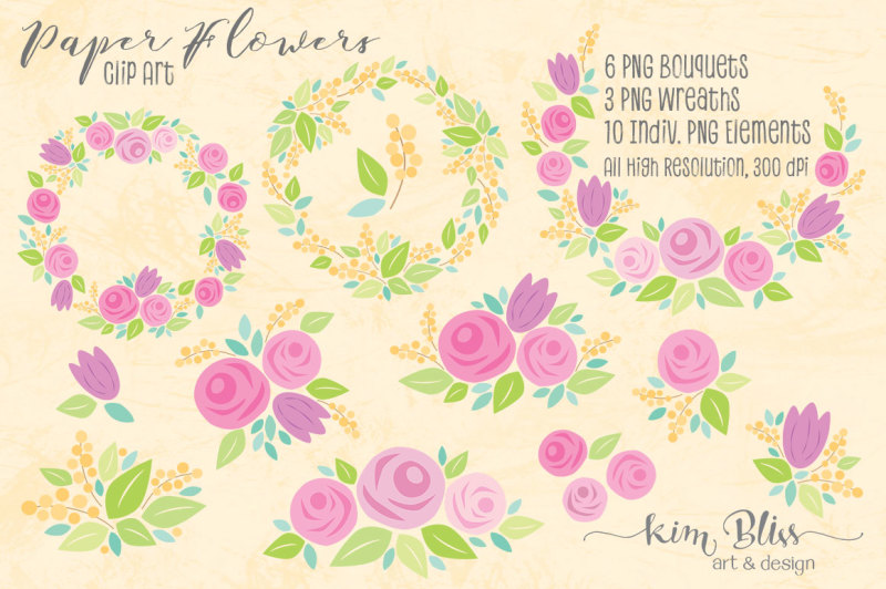 paper-flowers-clip-art-and-digital-papers