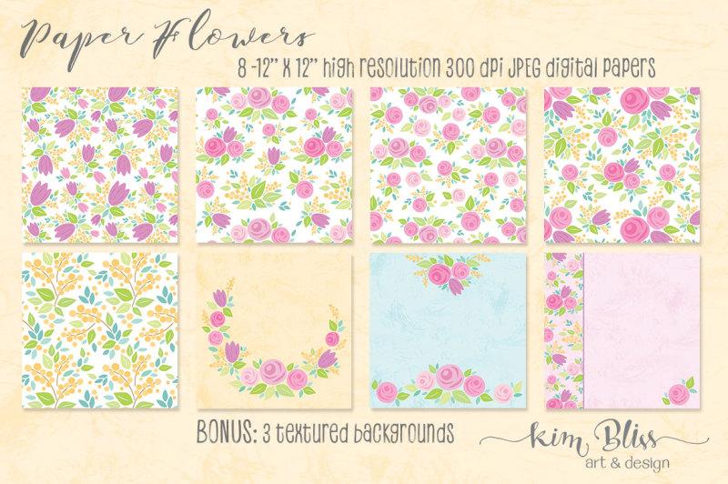 paper-flowers-clip-art-amp-digital-papers