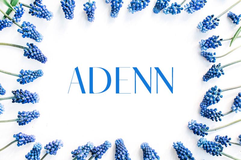 adenn-sans-serif-typeface