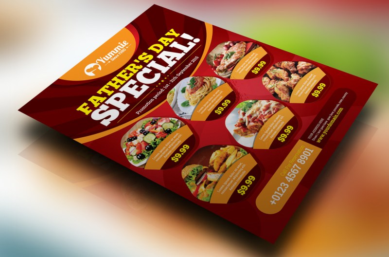 restaurant-flyer-vol-03