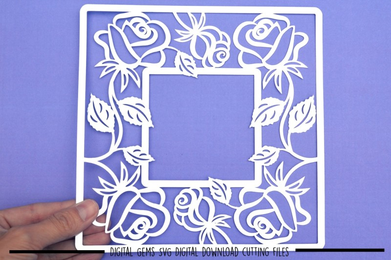 rose-frame-svg-dxf-eps-files