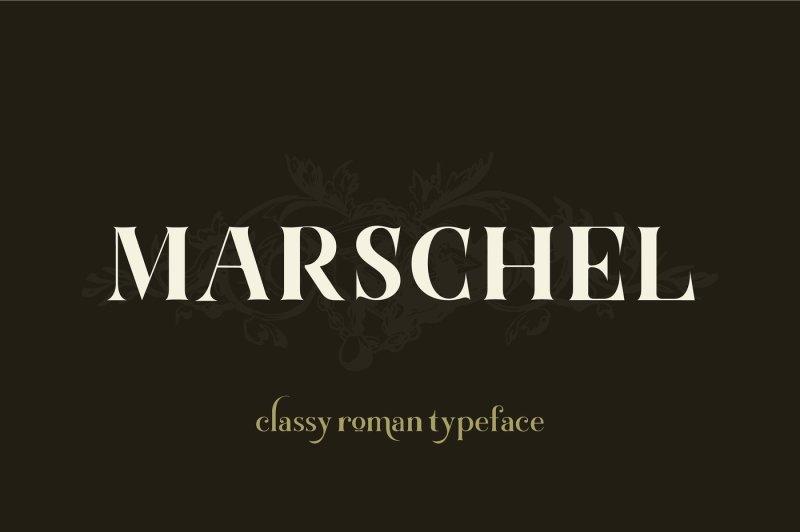 marschel-a-classy-roman-typeface