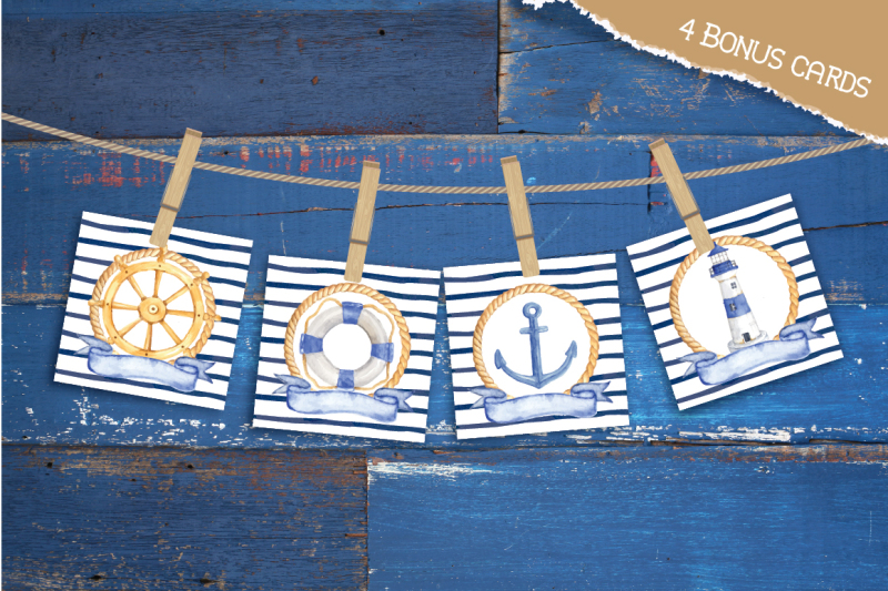 nautical-watercolor-collections