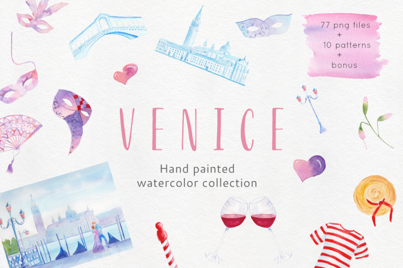venice-watercolor-collection