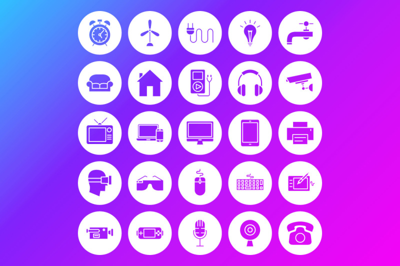 electronics-line-art-icons