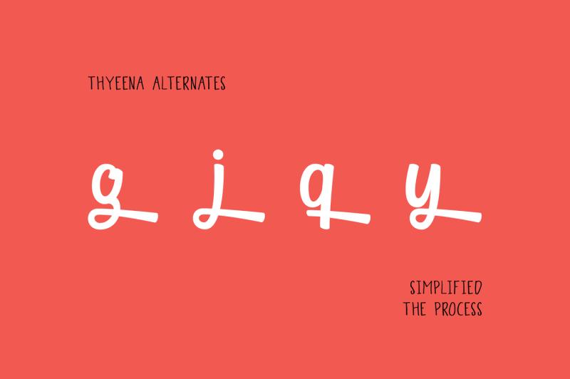 thyeena-fonts-and-illustration