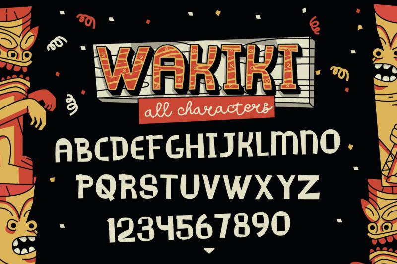 wakiki-layered-typeface-bonus
