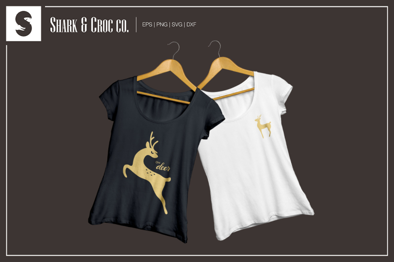 graceful-deer-cut-files