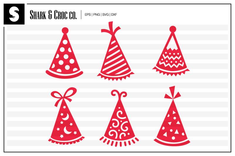 party-hats-cut-files