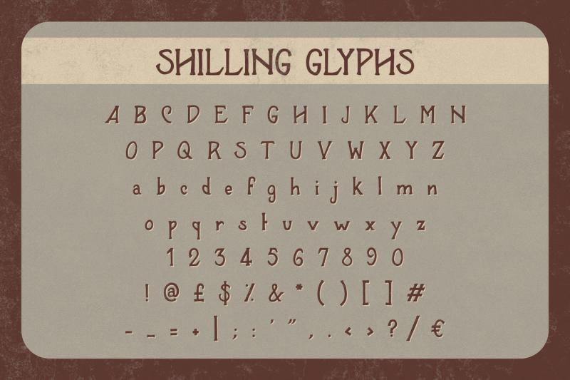 shilling-font