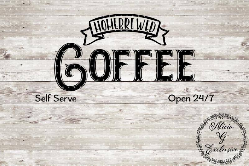 coffee-sign