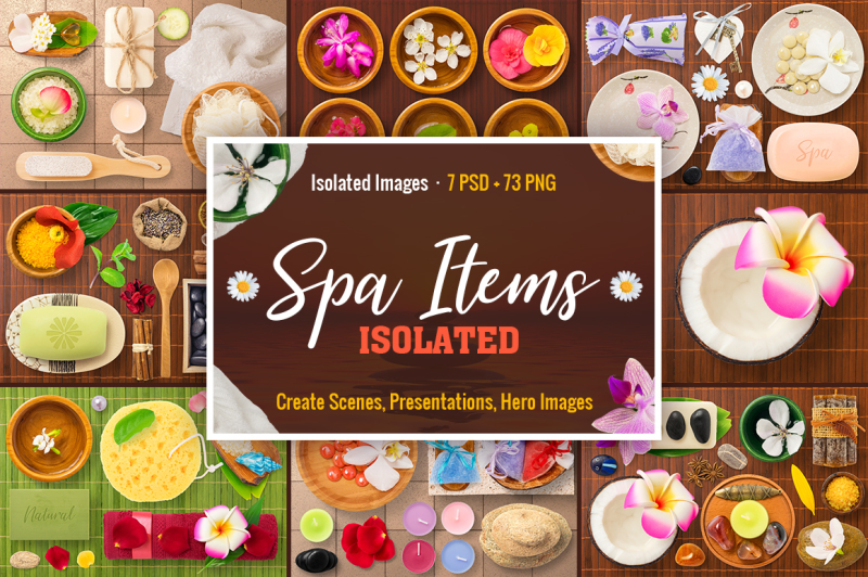 isolated-spa-items