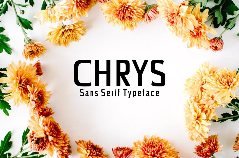 chrys-sans-serif-typeface
