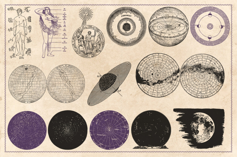 190-vintage-astrology-and-alchemy-vectors