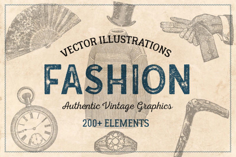 200-vintage-fashion-illustrations