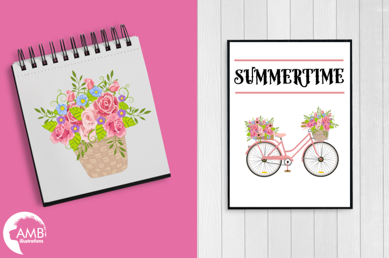 bicycle-in-pink-graphics-clipart-illustration-amb-1323