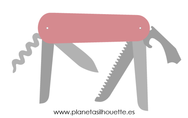 swiss-army-knife-dxf-svg-png