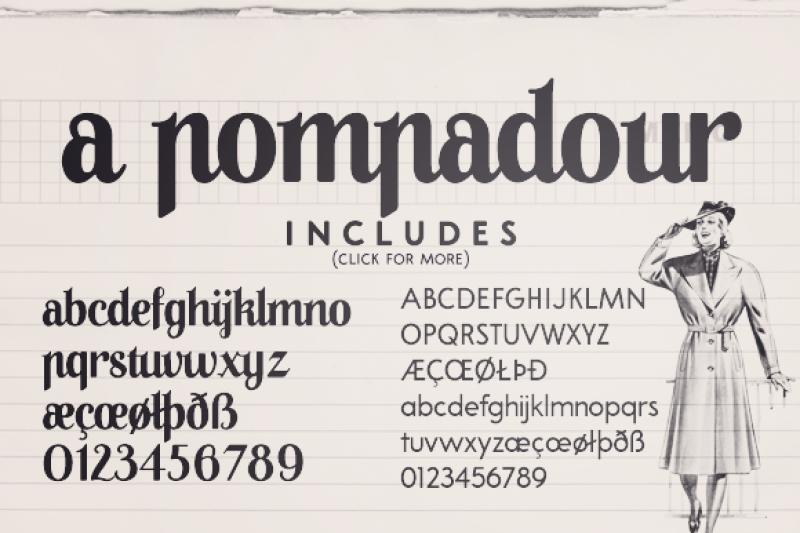 a-pompadour-a-font-family