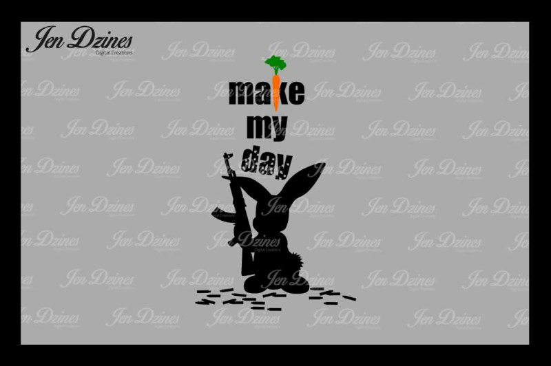 make-my-day-bunny-svg-dxf-eps-png