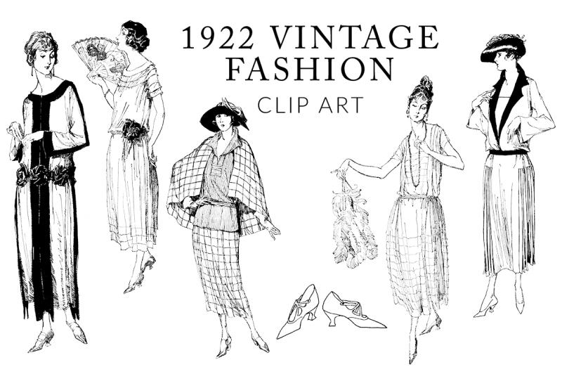 vintage-fashion-clipart